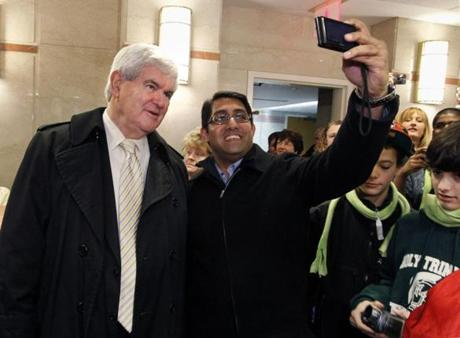 Newt Gingrich is trying to capitalize on the momentum of his South Carolina primary victory.